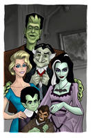 The Munsters colored