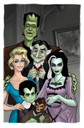 The Munsters colored by Balsavor