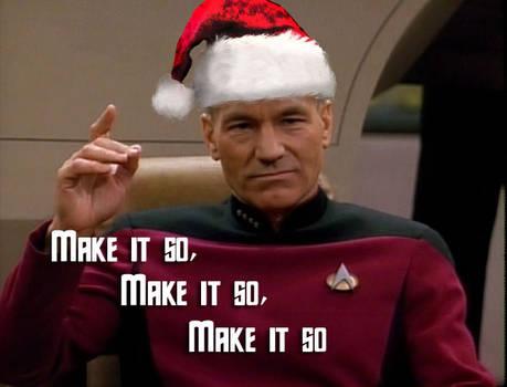 Make it so...