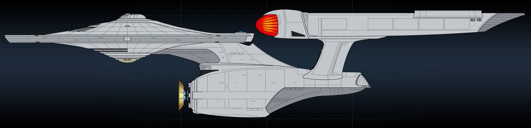 Enterprise concept flats (sort of)