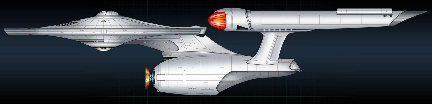 Enterprise concept colored