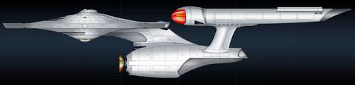 Enterprise concept colored by Balsavor