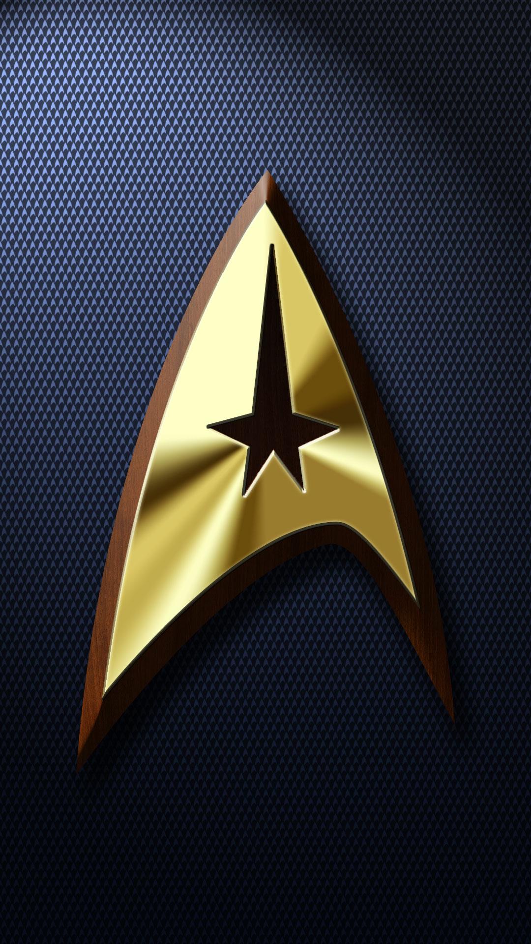Trek phone wallpaper by balsavor on deviantart - Star trek symbol wallpaper ...