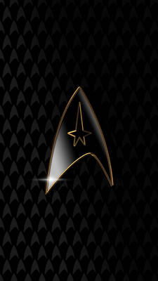 Star Trek Black arrowhead phone background
