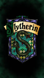 Slytherin phone wallpaper