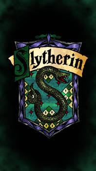 Slytherin phone wallpaper