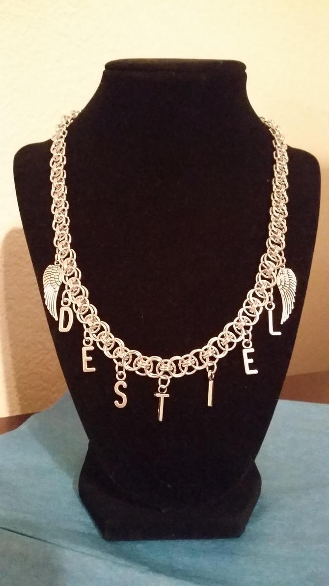 Supernatural Destiel necklace by aformerpiratelife