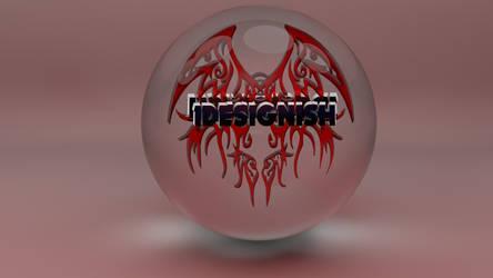 Logo in Ball by IDesignish