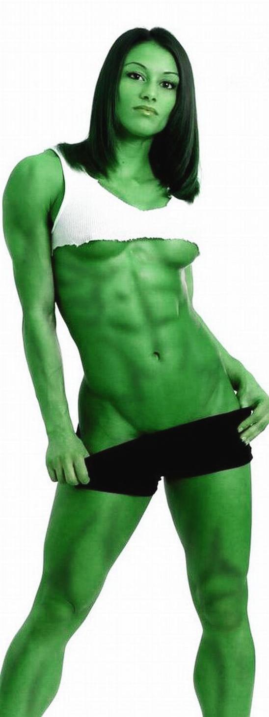 she hulk hot by wachiturro on DeviantArt