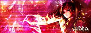 Signature pour Waha : Rin