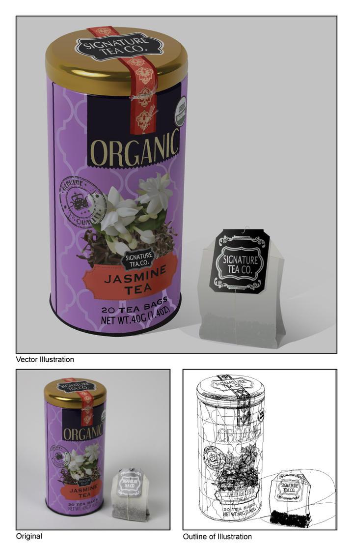 Tea Tin Vector by AlphaHawk98