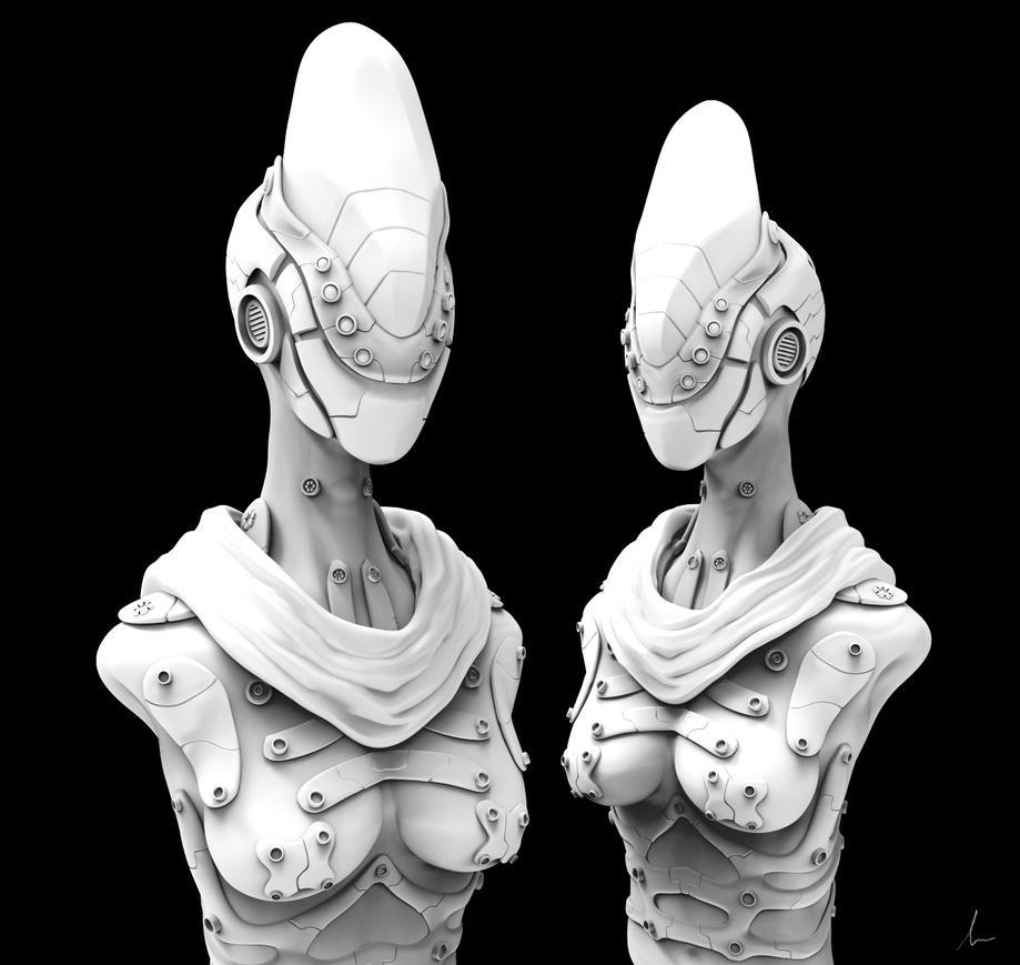 Zbrush Cyborg Sketch By Shadowl360 On DeviantArt