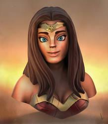 Wonder Woman by Shadowl360
