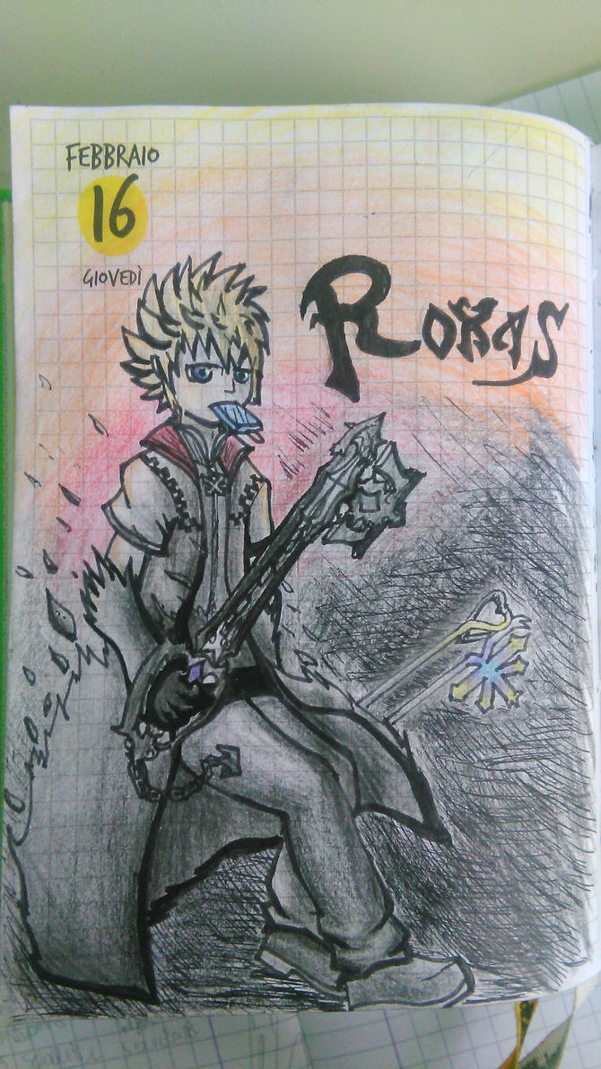 Roxas by Lucky02-Overmaster