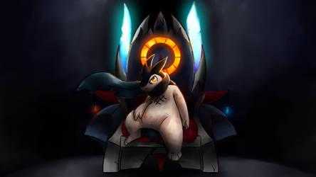Throne of light amidst the dark