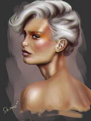 One of my portrait study) by Sh1mazzz