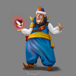Character Design: Samun Al Dabi by Sh1mazzz