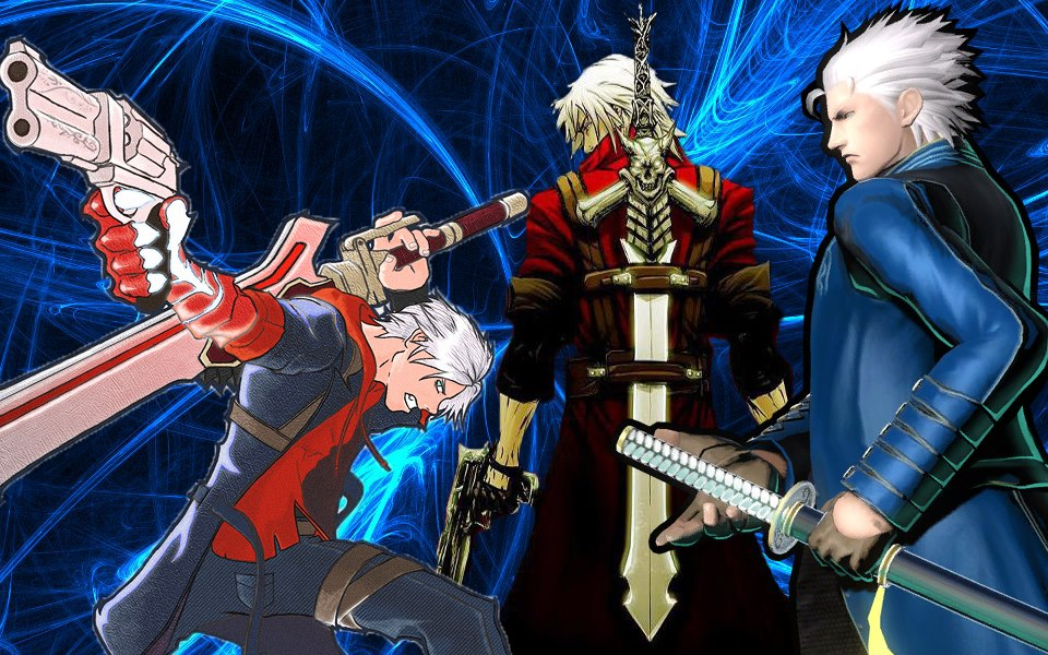 Devil May Cry Vergil And Dante By Laddyleon On – Dibujos Para Colorear