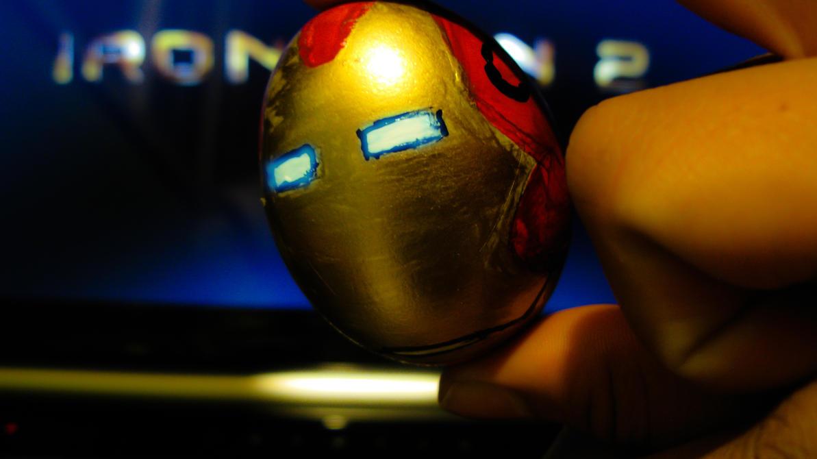 Iron Egg by nestigeek