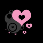pink.heart.circle. by c00130n355
