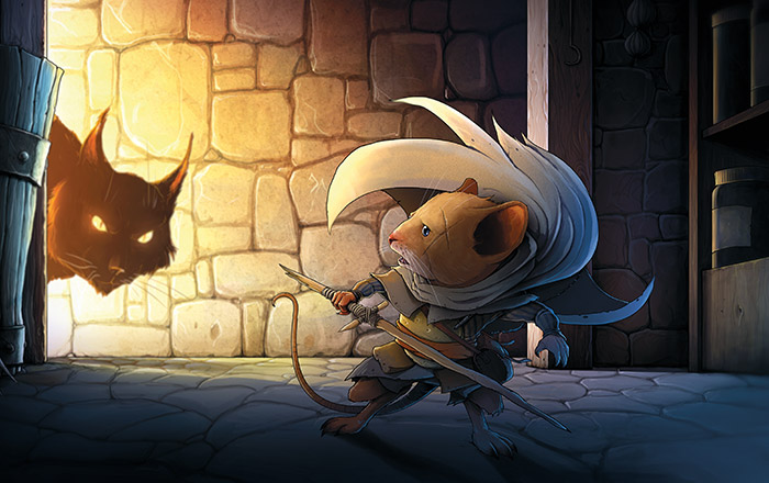 Mouse Warrior by PapaOurs