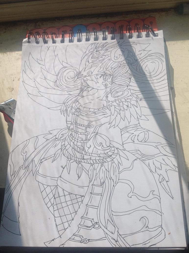 Brave frontier fan art by ELSWORDtheKnight123