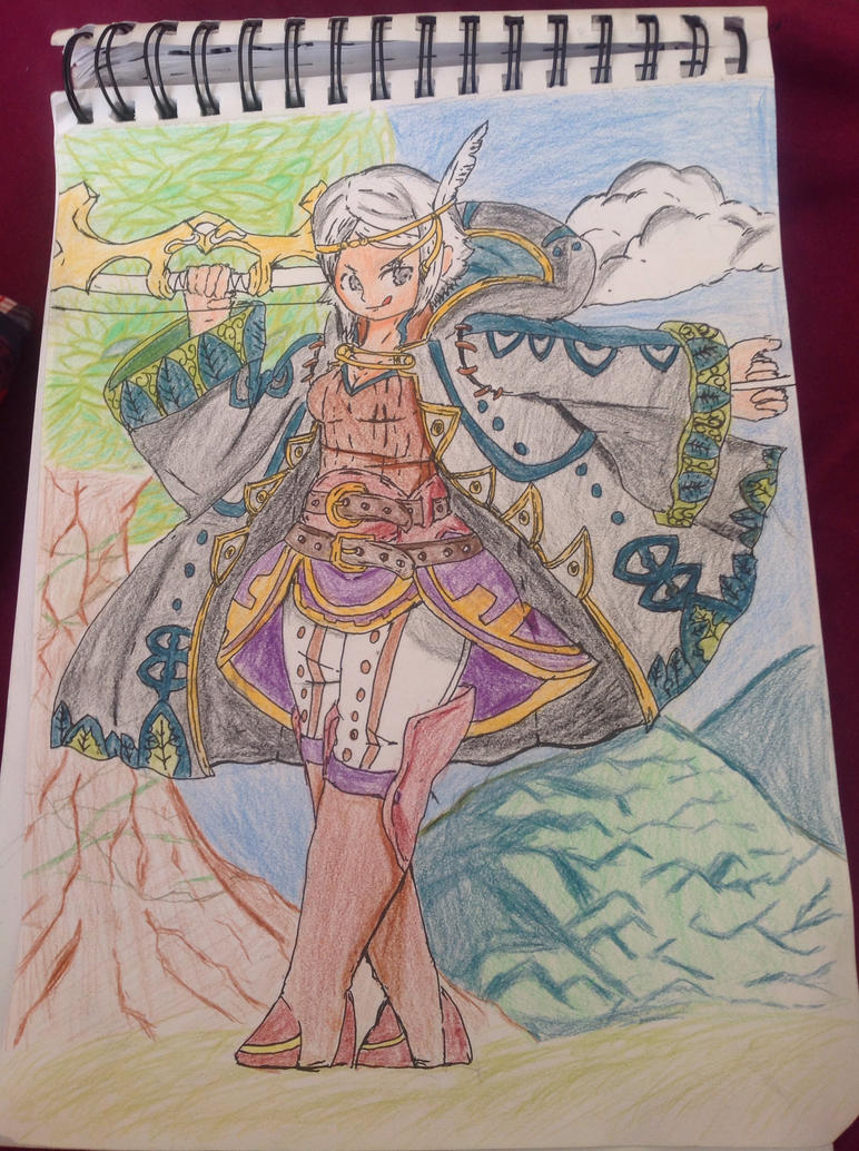 The grass wind tactician by ELSWORDtheKnight123
