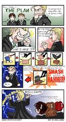 Draco Malfoy in THE PLAN by foxfur