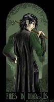 Faith in the Devil...Snape by foxfur