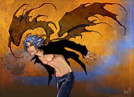 Blue Fire by foxfur