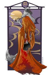 Kitsune by foxfur