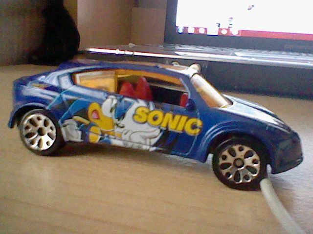 Sonic Matchbox Car By Zookinator Hedgie On Deviantart
