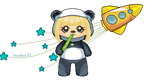 Panda Whuddle by stardustfornow
