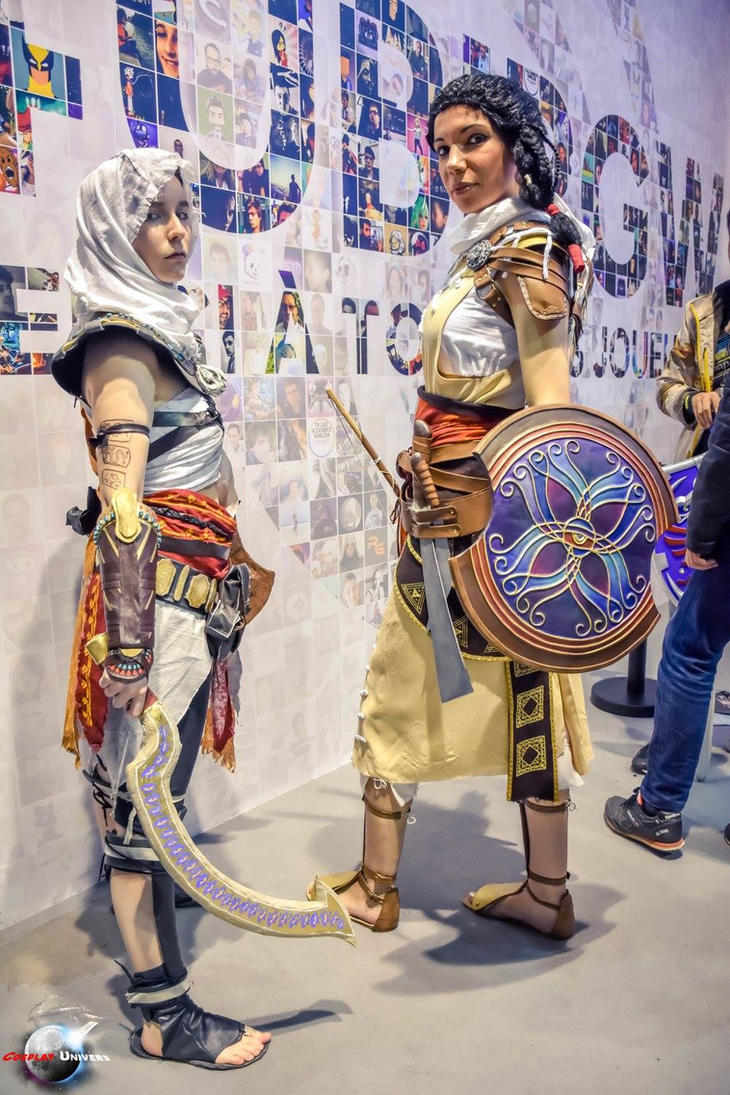 MET ART aya [ORIGINS] Bayek and Aya by BeckyOMalet92 ...