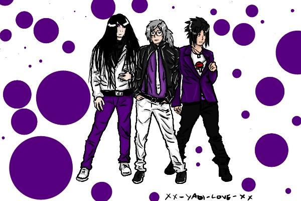 Orochimaru Kabuto 'n' Sasuke by xx-yaoi-love-xx on DeviantArt