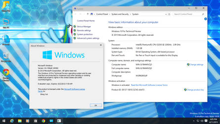 Windows 10 Pro Technical Preview (Build 10056)