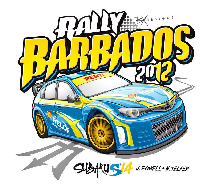 Rally Barbados 2012 by BreadX