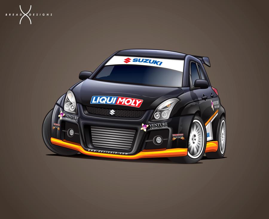 Devi Nath's Suzuki Swift by BreadX