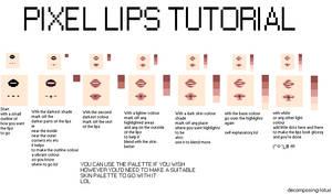 How i pixel lips