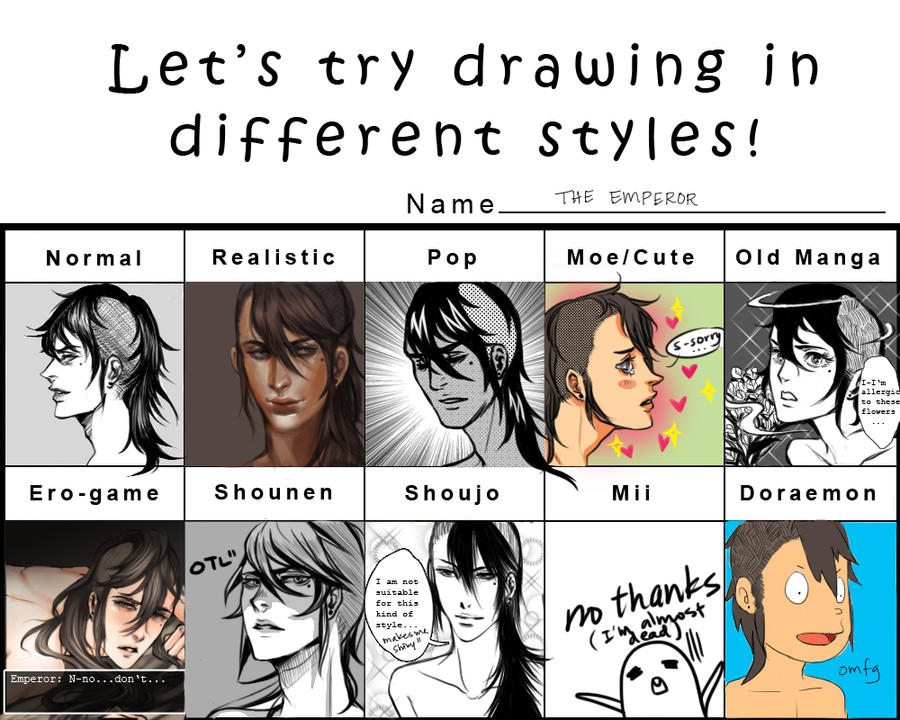 STYLE MEME by rondeau