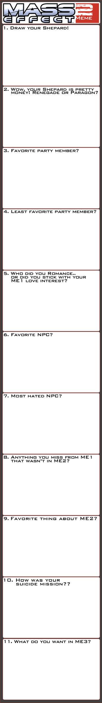 Mass Effect 2 Meme by SeeHangArt