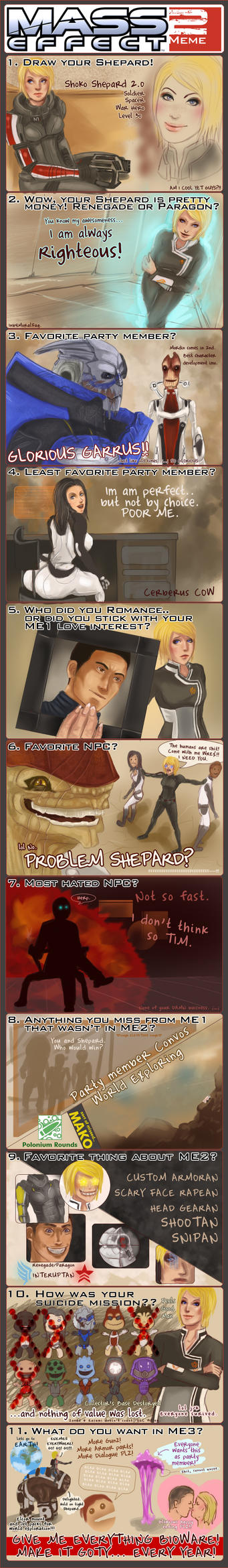 Mass Effect 2 Meme of Win by SeeHangArt
