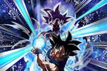 Transdimensional Instinct Goku UI Sign