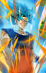 SSGSS Goku Wallpaper