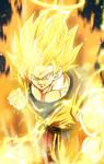 SSJ2 Angel Goku Wallpaper
