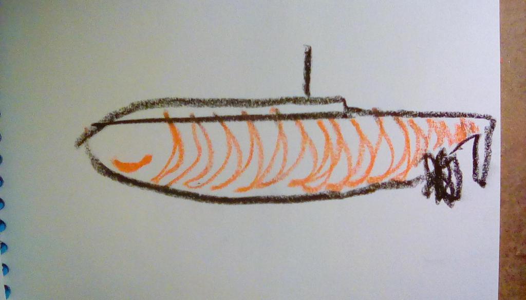 submarine by mrussellward