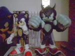Sonic and Werehog Figures