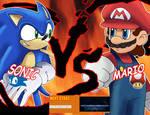 Sonic V.S Mario who will win?