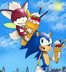 Re:Sonic and Chip in Apotos