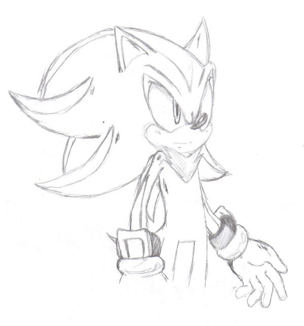 sonic and shadowsketch by ss2sonic on DeviantArt
